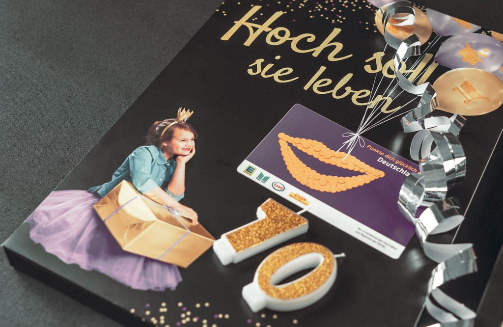 EDEKA DeutschlandCard Mailing Cover