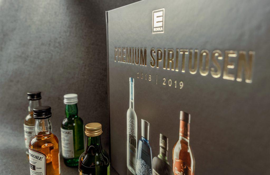 EDEKA Premium Spirituosen Katalog Detailaufnahme Cover