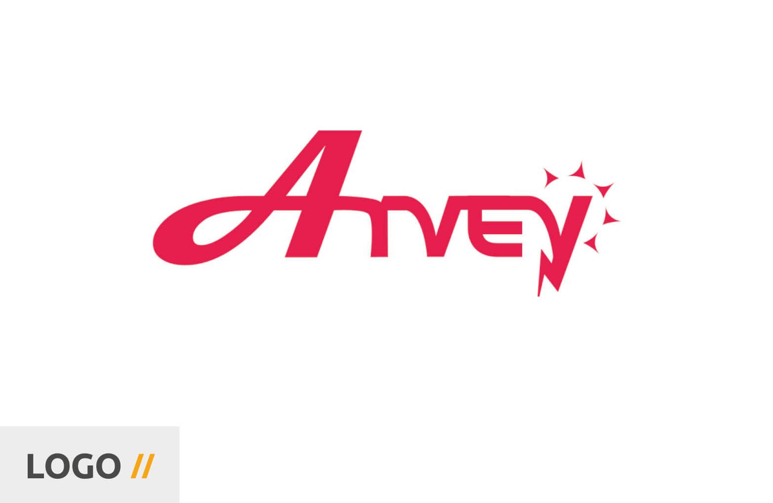 VORHER: ARVEY Logo - Markenentwicklung aus Würzburg - BRANDORT markenschmiede GmbH