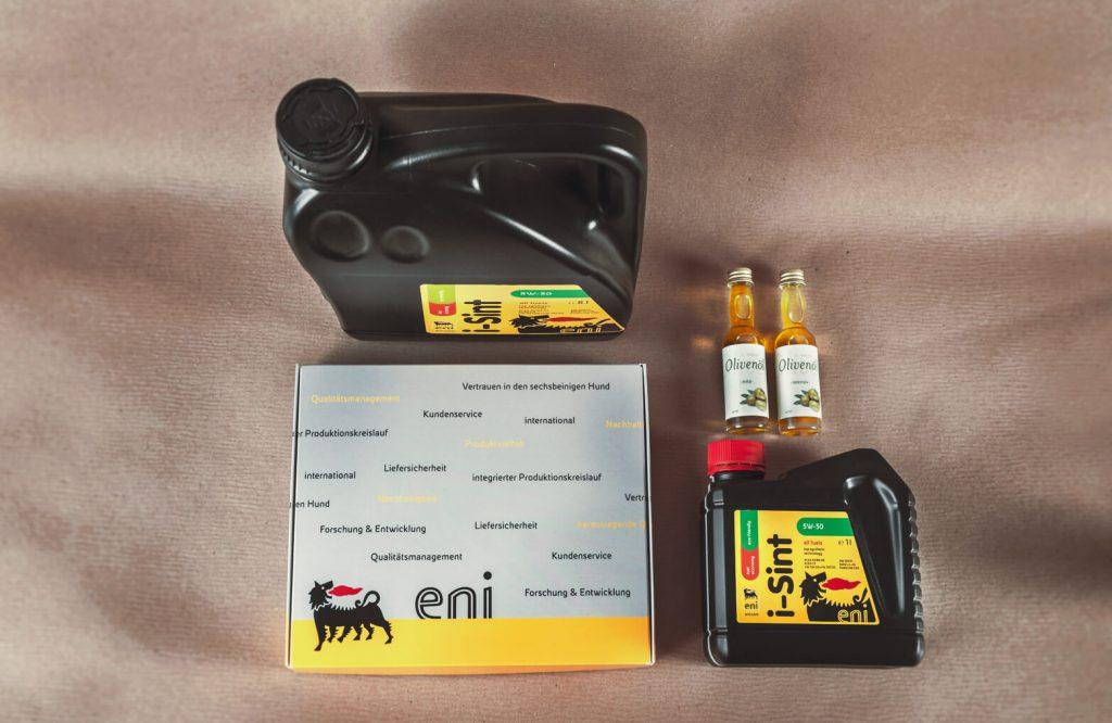 Eni Labels Kanister Mailing Olivenöl