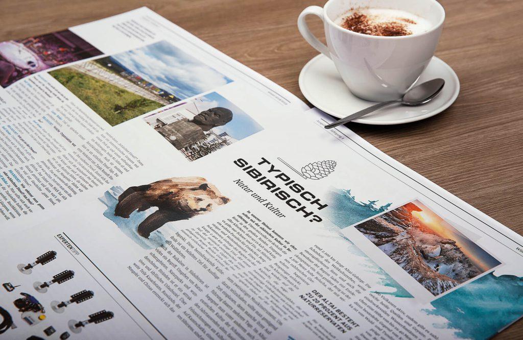 MORELO Kundenzeitung // Print Design von BRANDORT markenschmiede