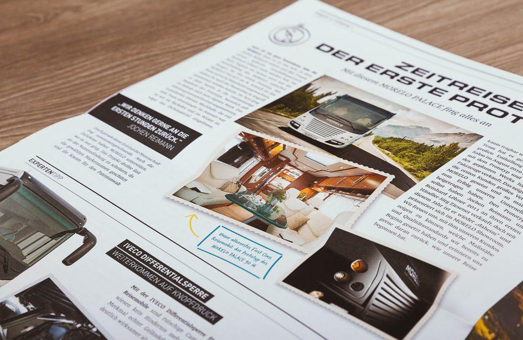 Print Design der Werbeagentur für Print: Brandort markenschmiede